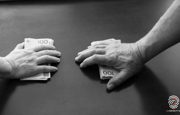 Podział majątku pieniądze